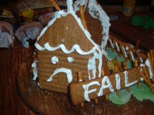 Gingerbread fail
